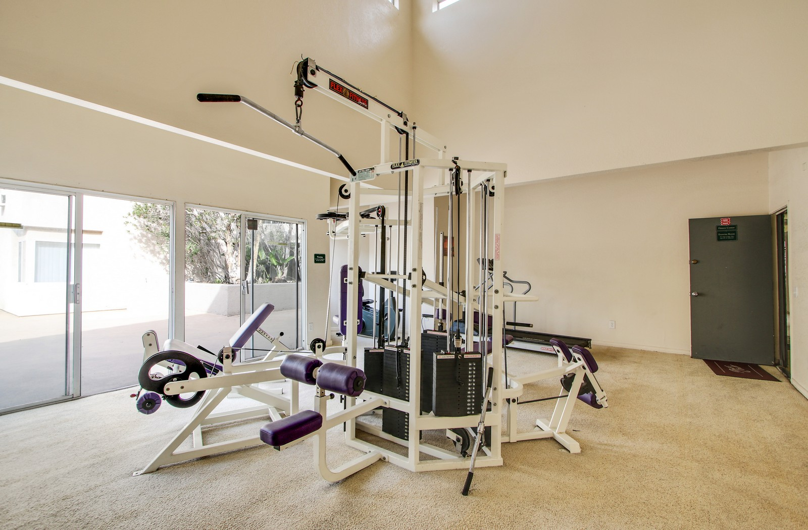 Paramount Terrace Apartments fitness center