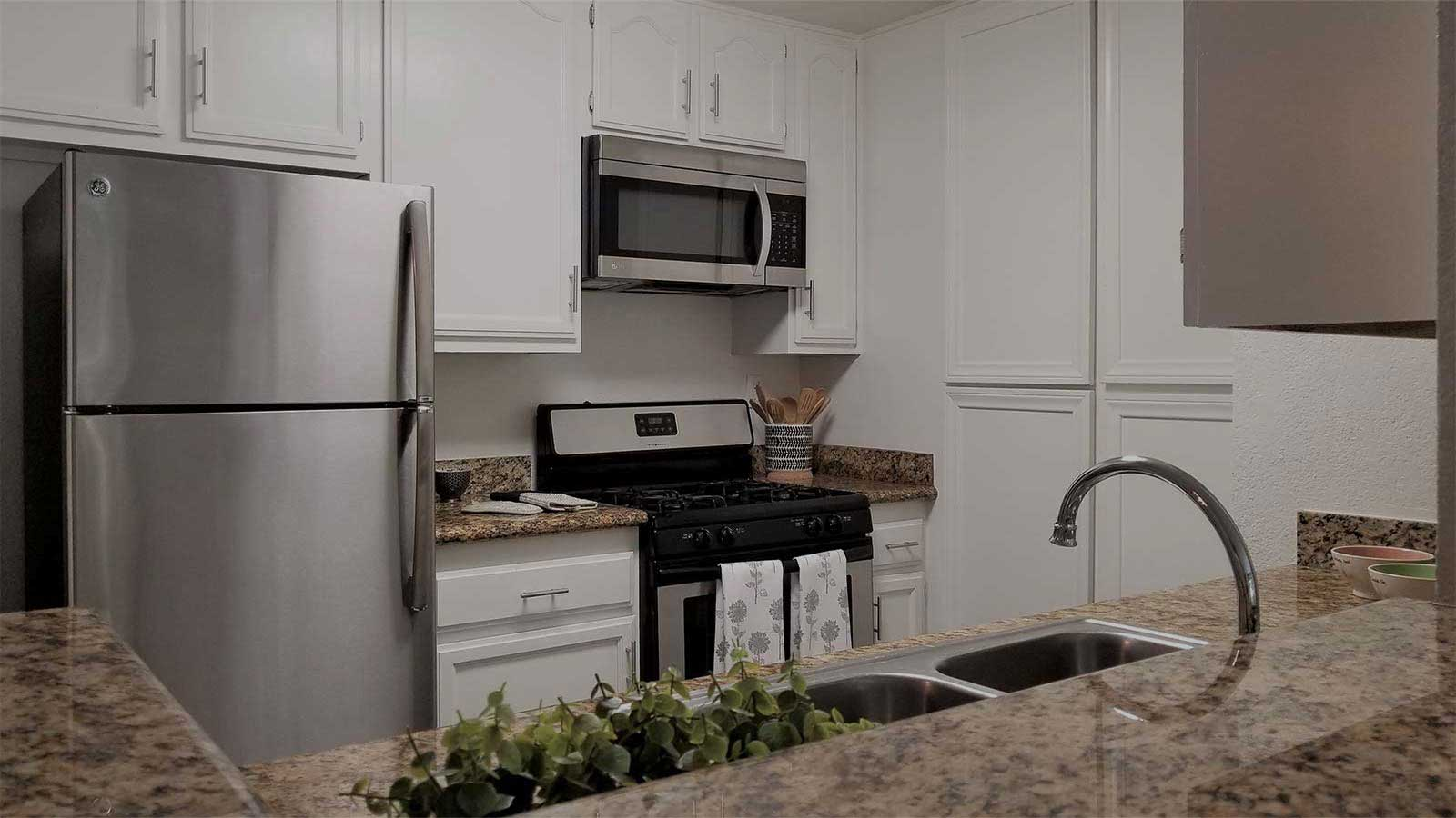 Paramount Terrace Apartment kitchen interior